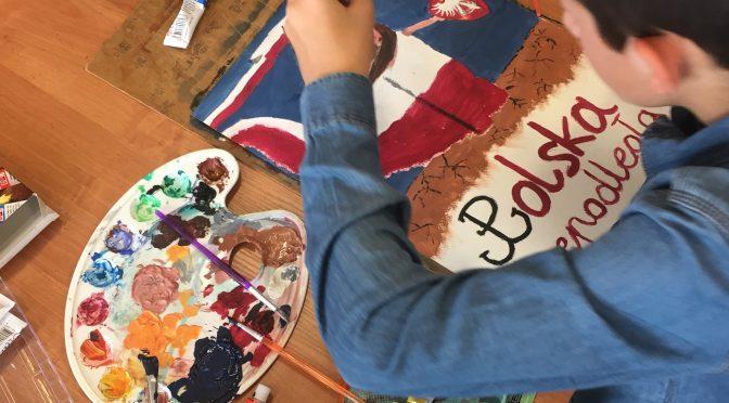 Sukcesy w gminnym konkursie plastycznym <i>Malowanie jest łatwe</i>