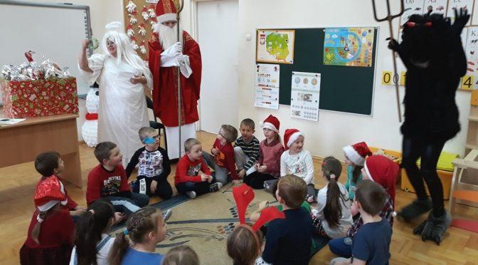 Wizyta św. Mikołaja :)