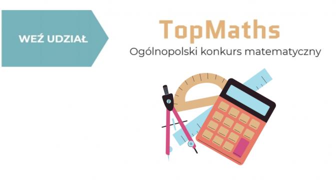 Ogólnopolski konkurs matematyczny – TopMaths